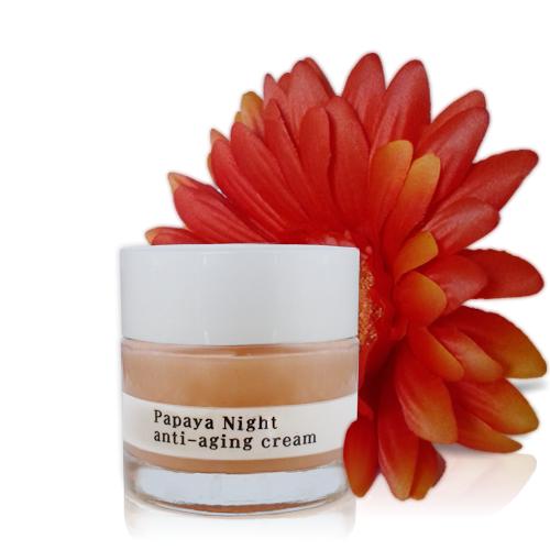Papaya Night Anti Aging Cream - Custom Blending | Facial Spa De Larissa - Age in Reverse