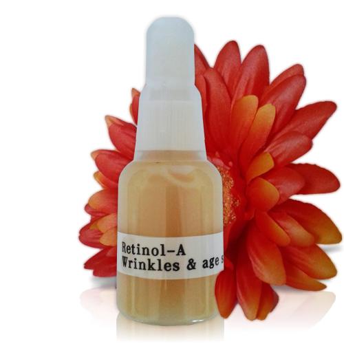 Retinol-A Serum. Wrinkles & Age Spots - Custom Blending | Facial Spa De Larissa - Age in Reverse